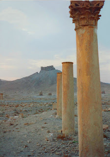 Pillars of Palmyra by Cherry Brandstater