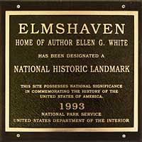 Historic Marker at EGW's Last Home