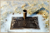 Keith's headstone - Gone Home