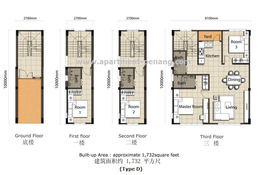 1 Tanjung Penang Floor Plan 1 Tanjong Apartment Penang Com