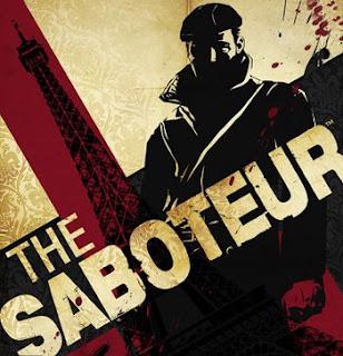 The Saboteur game box