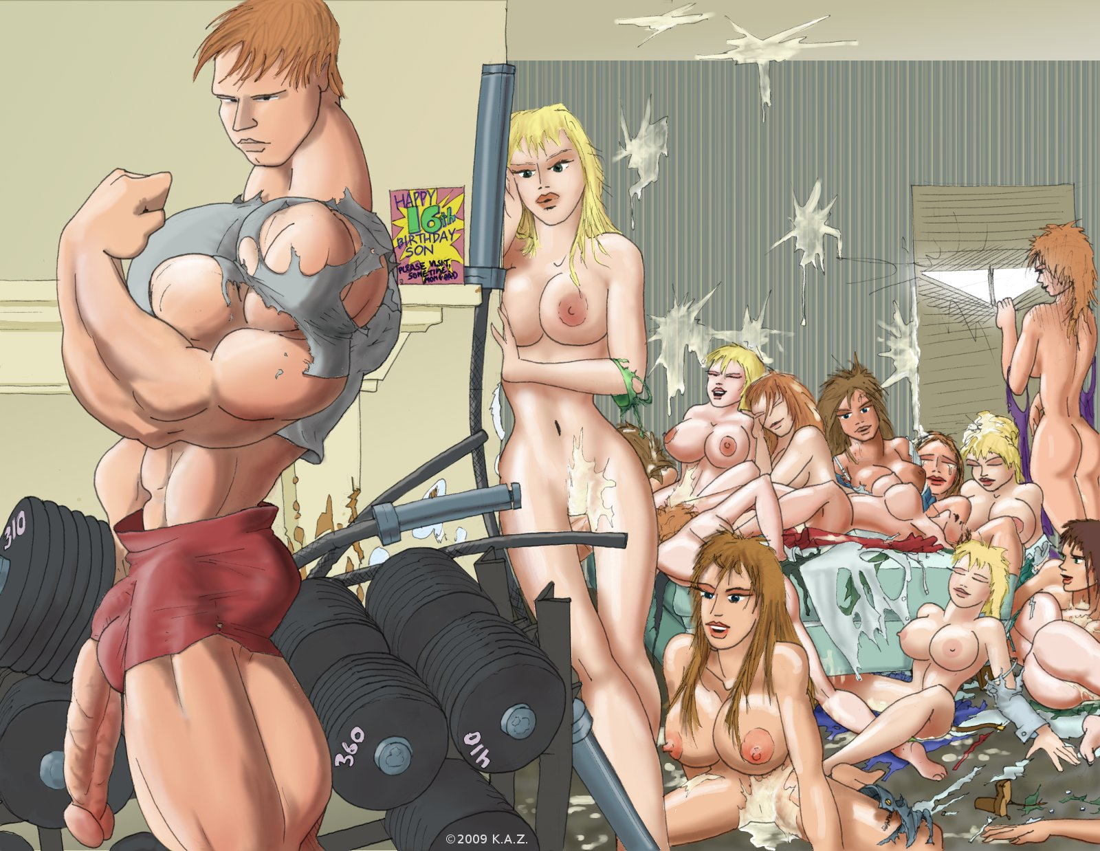 Naughty naked college parties