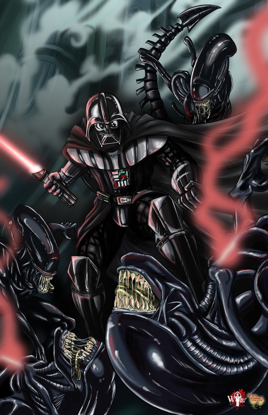 Cultural Compulsive Disorder: Like! Like?: Star Wars Art ...