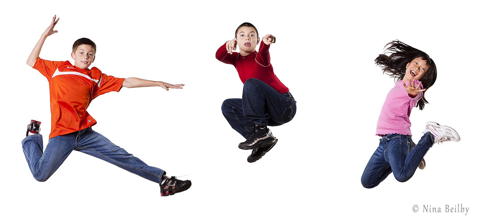 Kids Jump...Children's Portraits