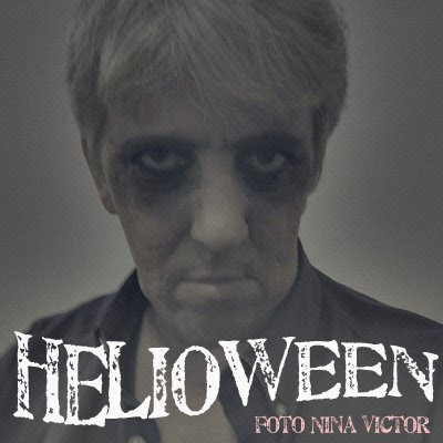 Helioween by Nina Victor - Helio Jenné comemora o Dia das Bruxas e se fantasia de zumbi