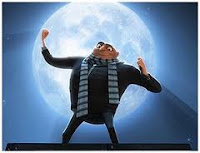 Gru é o malvado que quer encolher a lua