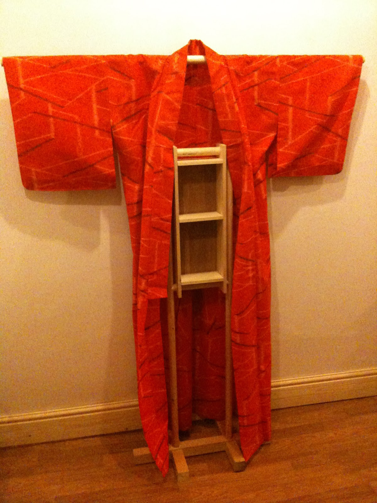 Little side projects for home  Kimono stand  A View From