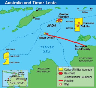 East Timor Law and Justice Bulletin: Glas Dowr lined up for