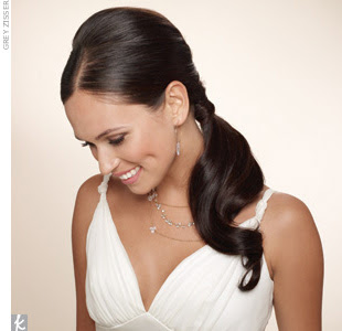 Romantische Hochzeit Frisuren