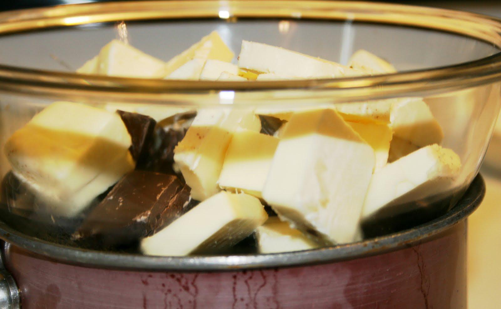 Chocolate Tea Cakes With Earl Grey Icing