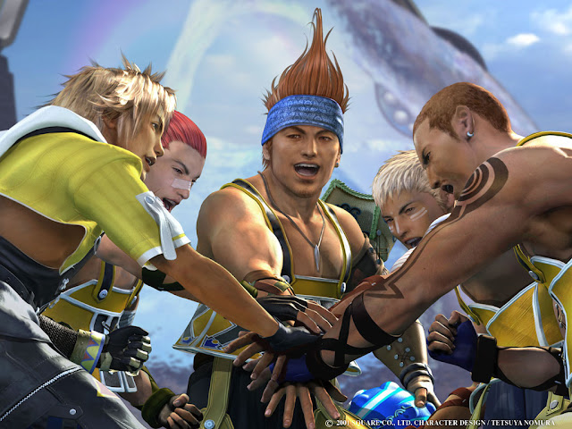 Wakka from Final Fantasy X