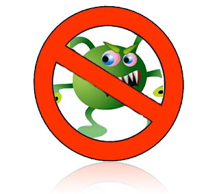 logo virus komputer