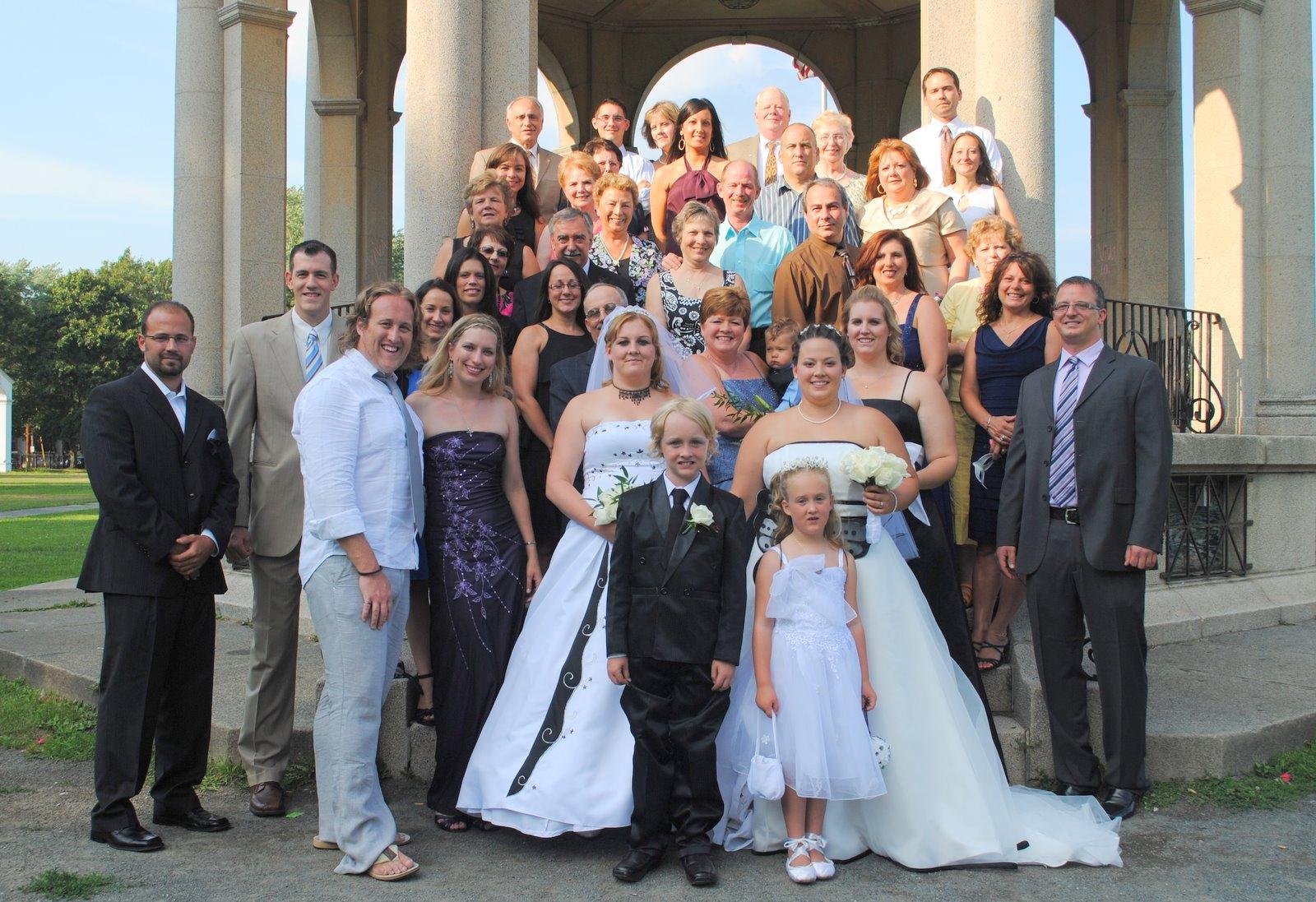 Modern Family Wedding
