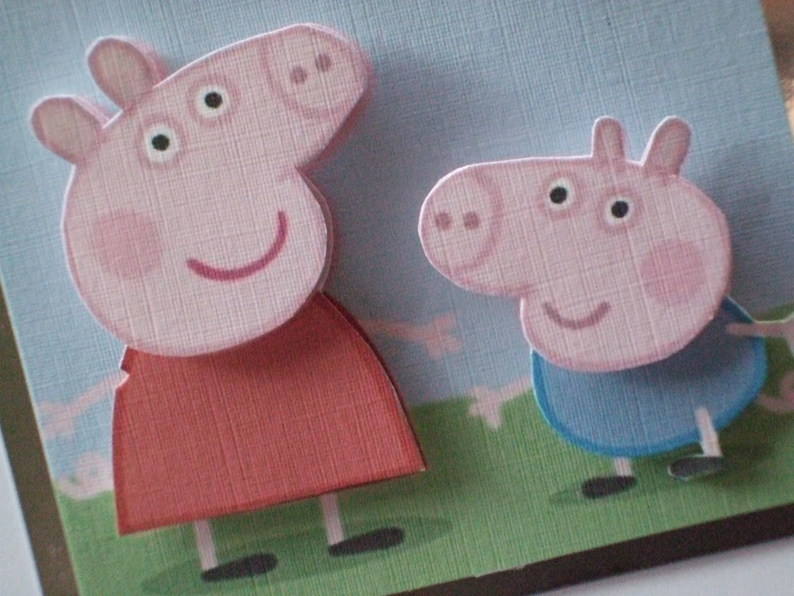 A Day in the Life of a Craft Fairy...: Peppa and George ...