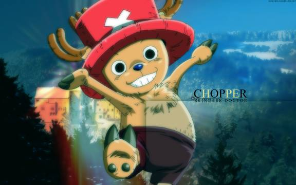 One Piece Manga: One Piece Tony Tony Chopper Wallpaper