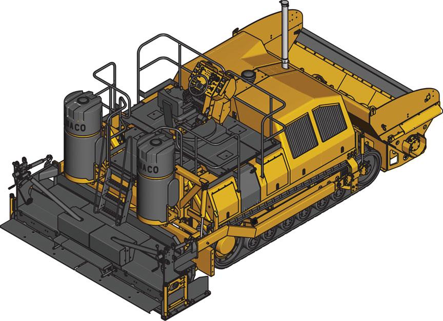 Rcc compaction roller