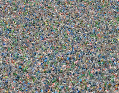 Oh, it's plastic bottles. Lots of them.
