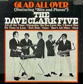 Cover of the Dave Clark Five album Glad All Over