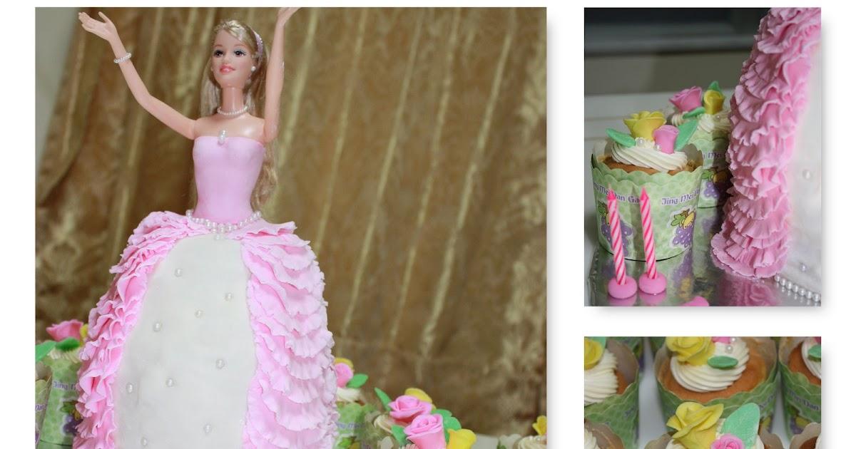 Barbie Doll Kitchen Set