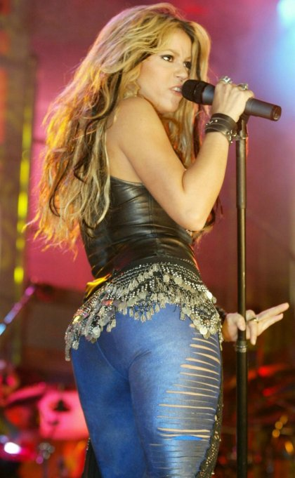 """Today is Their Birthday-Musicians: February 2: Shakira - """"Waka Waka,"""" """"Hips Don't Lie,"""" """"Can't ..."""