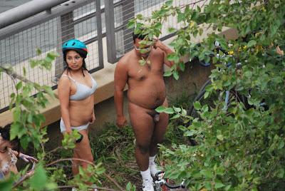 world naked bike ride italy