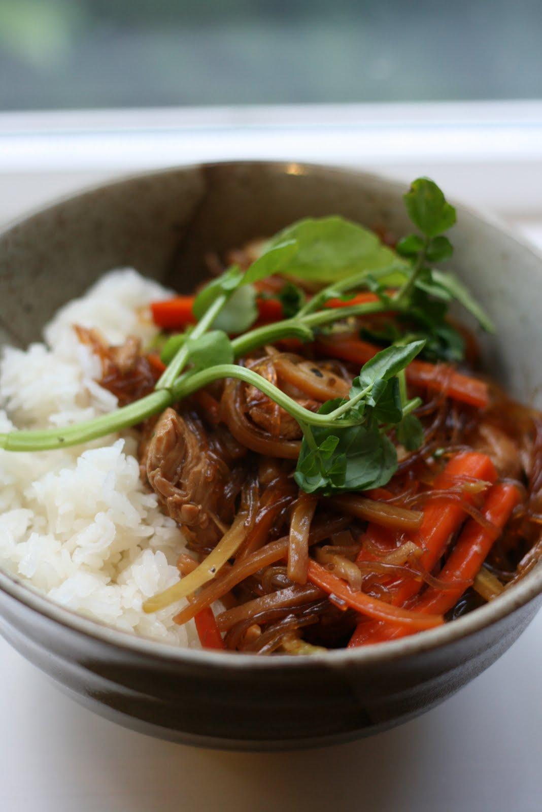 Japanese Chicken Stir Fry With Noodles Test Kitchen