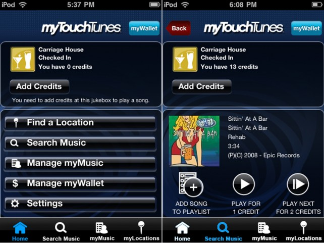 How to get free credits on touchtunes jukebox | TouchTunes Mobile