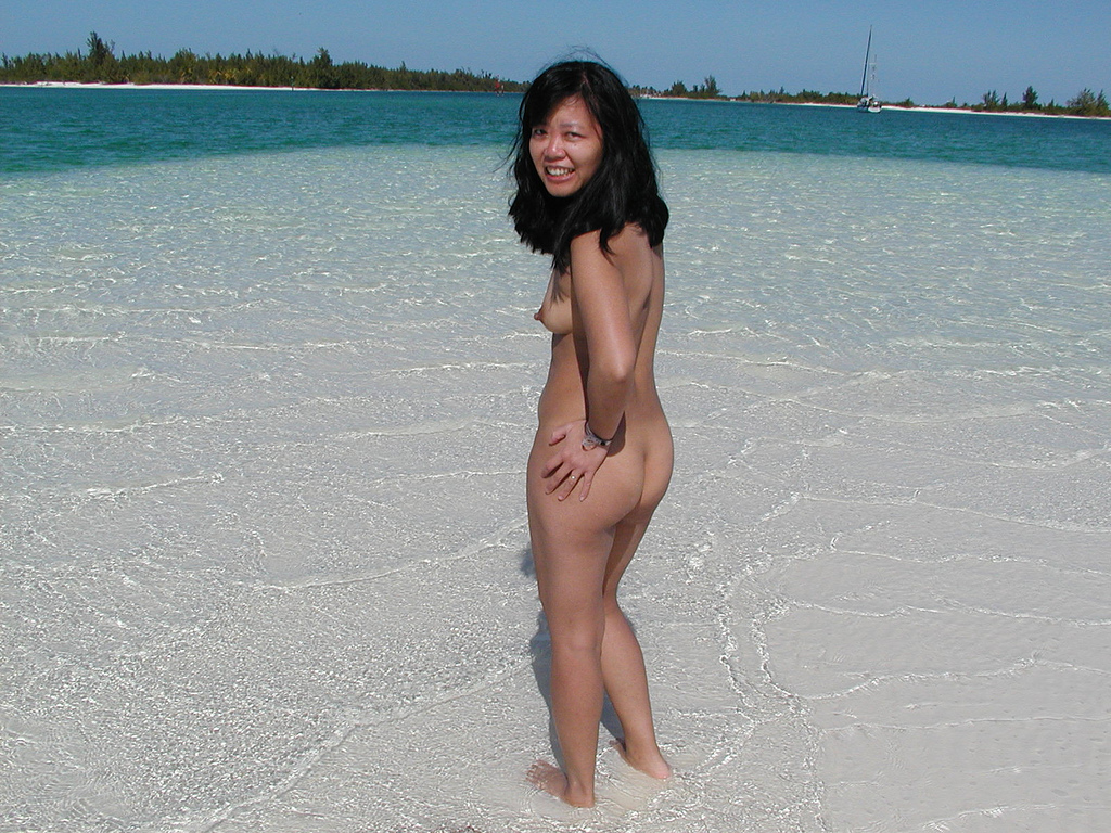 Asian nude beach pictures