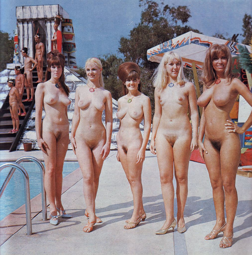 Camps vintage family nudist