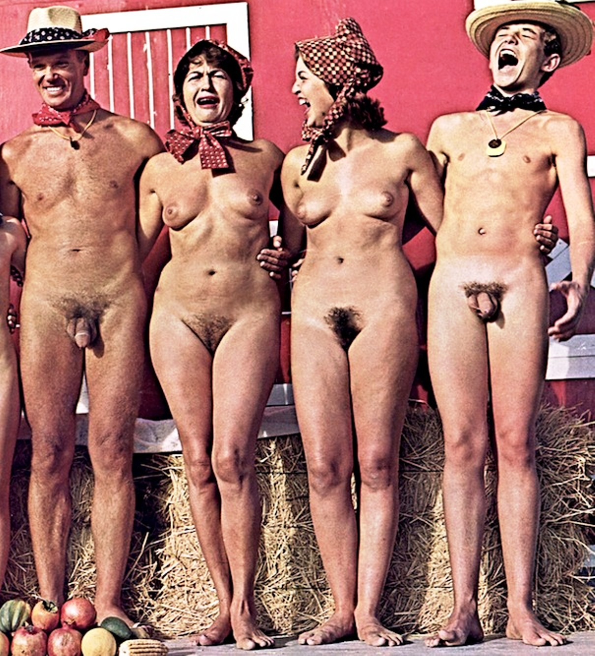 Consider, that Vintage nudist girls family pity