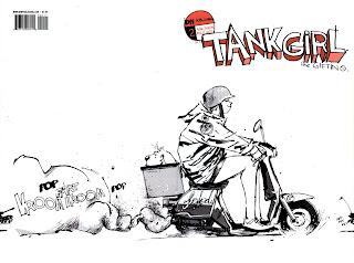 viewmaster comics: ASHLEY WOOD:TANK GIRL