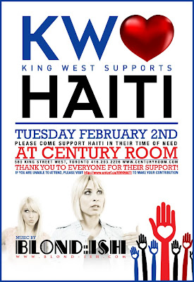King West Supports Haiti Charity Event  Streetwear clothing  Juzd