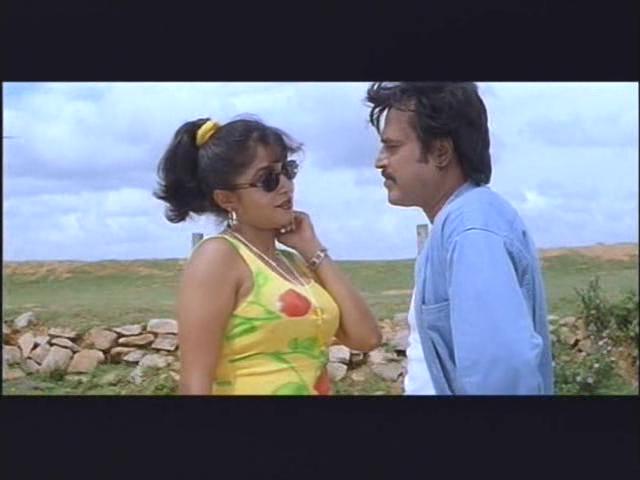Narasimha telugu movie || meriseti poova video song || rajnikanth.