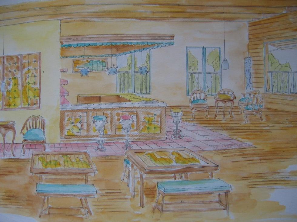 Interior Design Major Class: Muara Angke Wetland Center We Handle AllThis