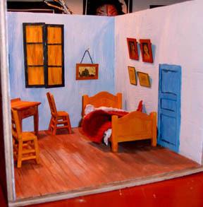 Grain Of Salt Van Gogh Quot The Bedroom Quot Diorama