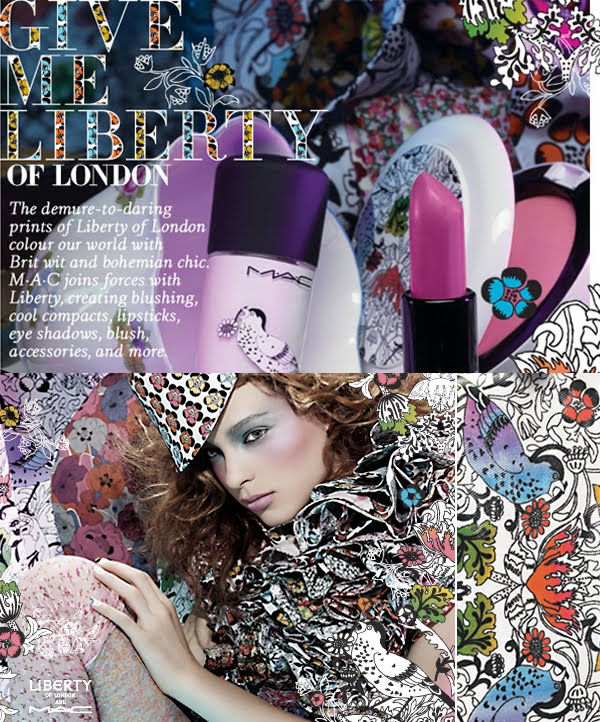 Liberty of London for MAC