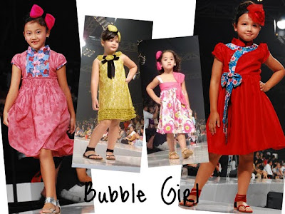 Bubble Girl by Sebastian Gunawan at JFW 2010/2011