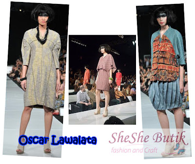 Oscar Lawalata and Laura Miles Collaboration: Weaving the Future  at JFW 2010/2011