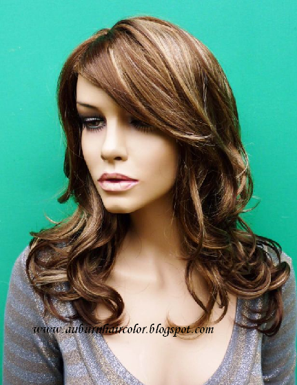 Auburn Hair Color: Light Auburn Red Hair