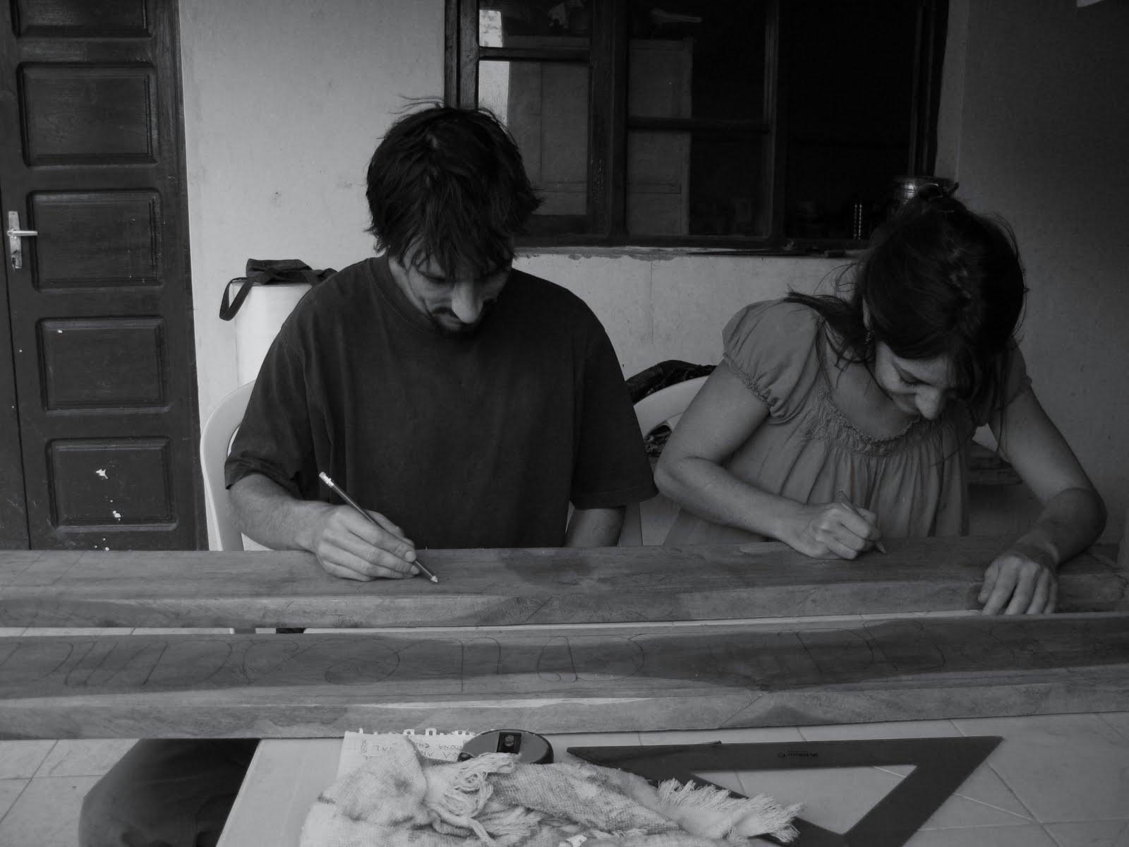 la pyrogravure sur bois