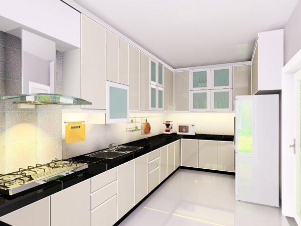 Segar Sepanjang Berada Di Dapur Pilihan Rona Putih Menjadi Tema Asas Yang Selalunya Padankan Dengan Warna Kelabu Cream Pekat Dan Hitam
