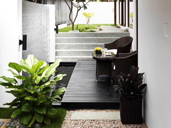 Hiasan Halaman Rumah Teres Desainrumahid com