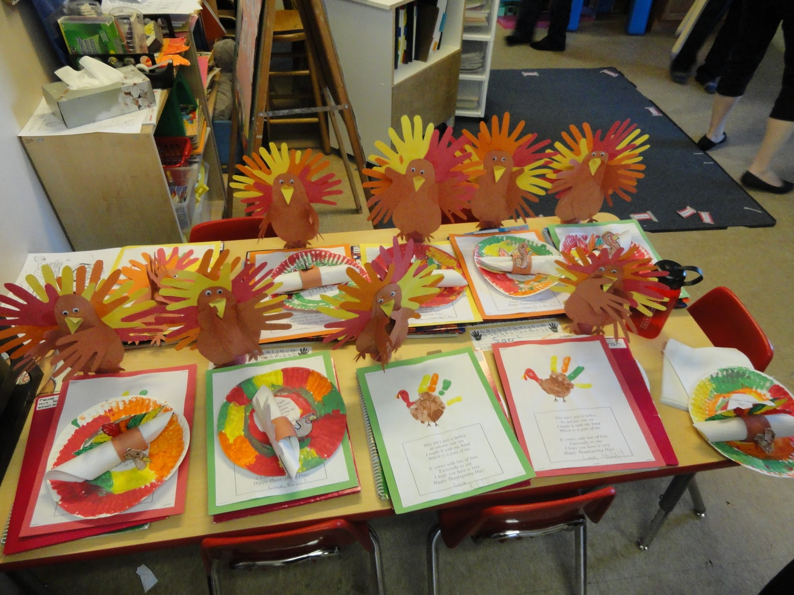 Milton Christian School Thanksgiving Crafts