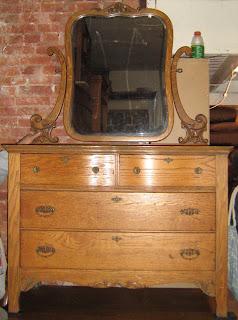 Uhuru Furniture Amp Collectibles Antique Tiger Oak Dresser