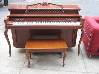 Acrosonic piano