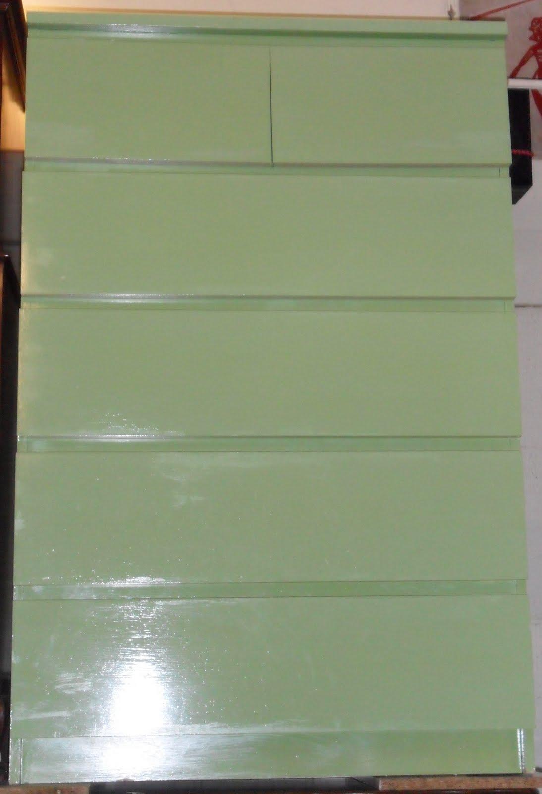 Uhuru Furniture Amp Collectibles Green Malm Sold