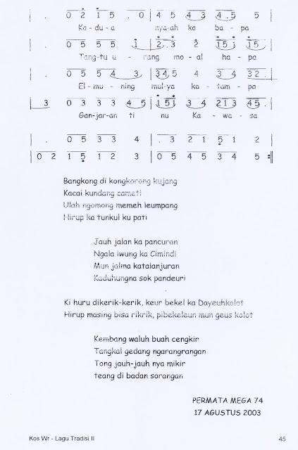 Lirik Lagu Sabilulungan : lirik, sabilulungan, Suling, Sabilulungan, Kumpulan