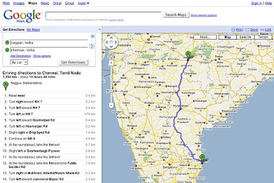 Official Google India Blog: Plan your journey with Google Maps! on compass directions, get directions, giving directions, travel directions, scale directions, mapquest directions, driving directions, traffic directions,