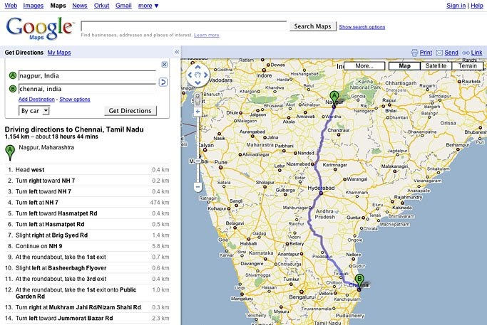 Official Google India Blog: Plan your journey with Google Maps! on