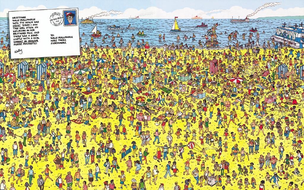 *Blog de Historia*: Buscando a Wally